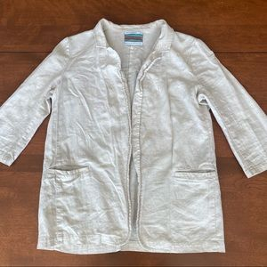 Urban renewal/Outfitters Vintage Linen Blazer